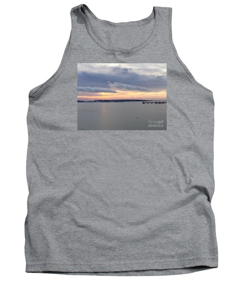 The Opalescent Sunrise Is Unfurled Tank Top