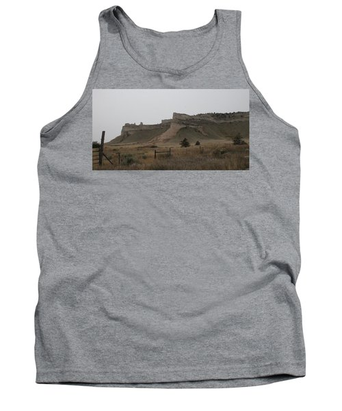 The Oregon Trail Scotts Bluff Nebraska Tank Top