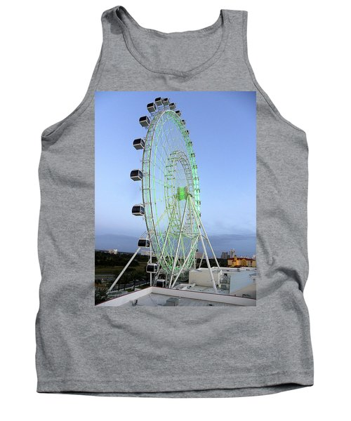 Tank Top featuring the photograph The Orlando Eye 000 by Chris Mercer