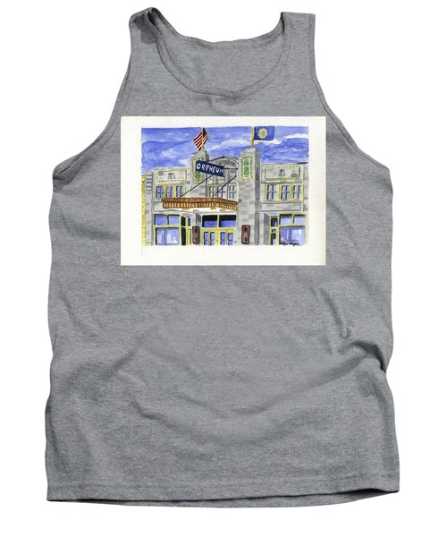 The Orpheum Tank Top by Rodger Ellingson