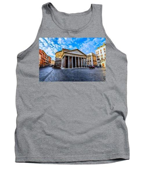 The Pantheon Rome Tank Top