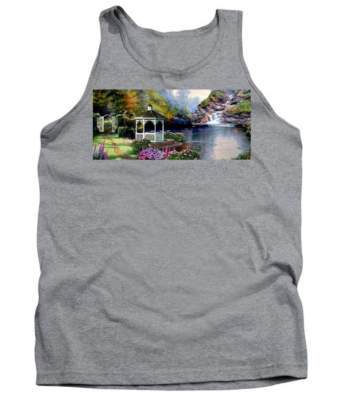 The Path Least Fallowed 2 Tank Top by Ron Chambers