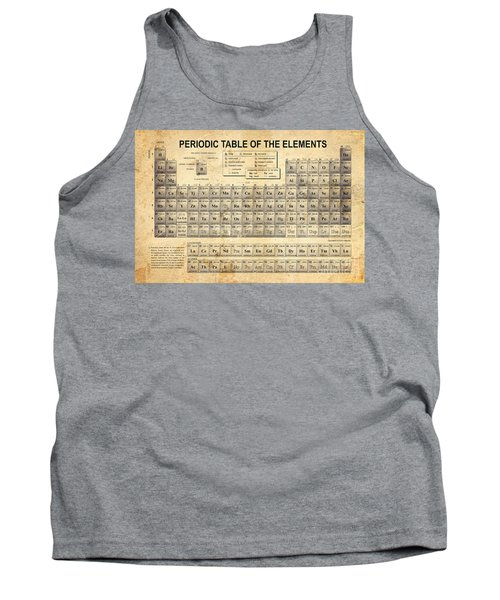 The Periodic Table Tank Top