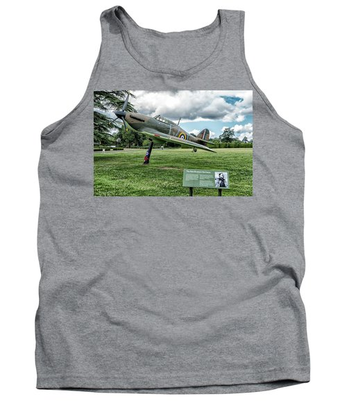 Tank Top featuring the photograph The Pete Brothers Hurricane by Alan Toepfer