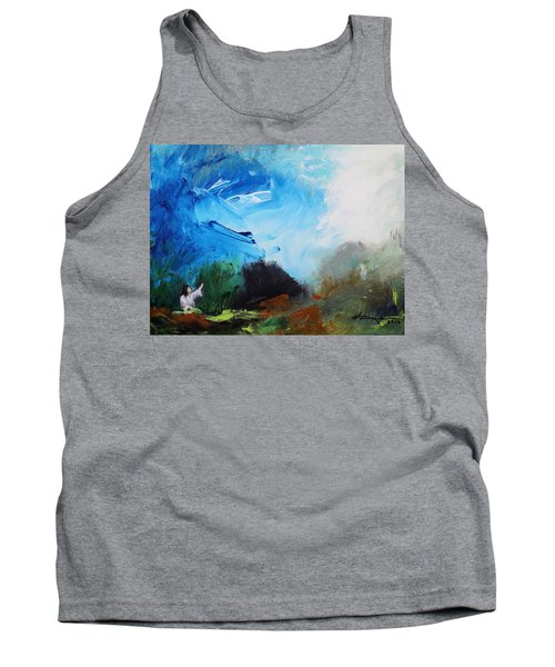 The Prayer In The Garden Tank Top by Kume Bryant