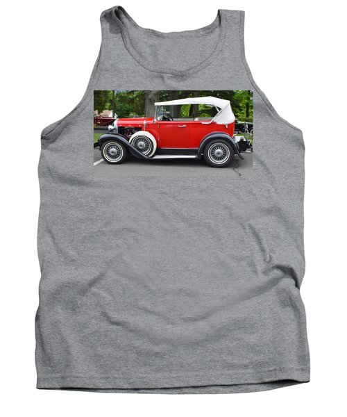 The Red Convertible Tank Top