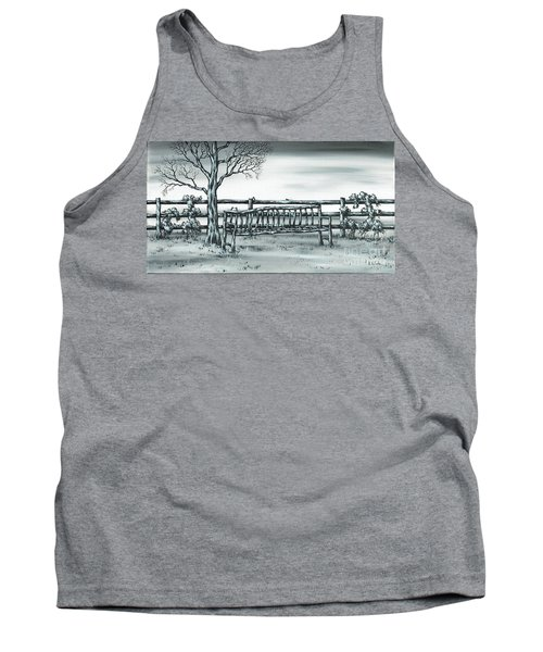 Tank Top featuring the painting The Rematch by Kenneth Clarke