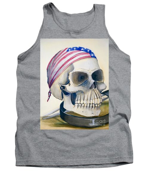 The Rider's Skull Tank Top