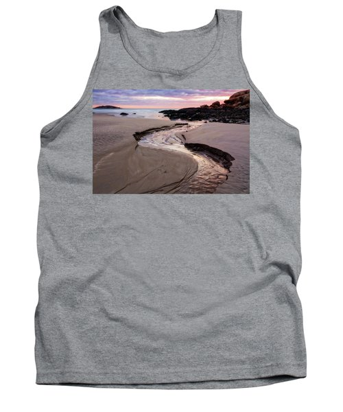 The River Good Harbor Beach Tank Top by Michael Hubley