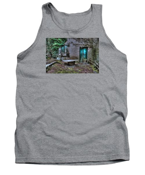 The Round Table House In The Abandoned Village Of The Ligurian Mountains High Way Tank Top