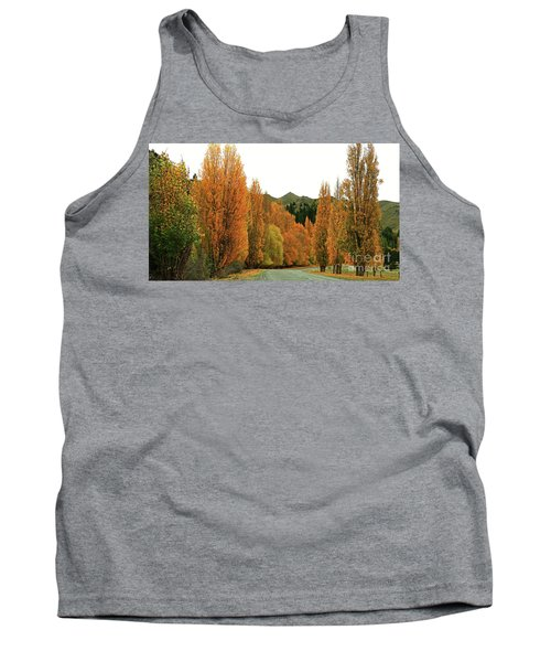 The Russet Tones Of Fall Tank Top
