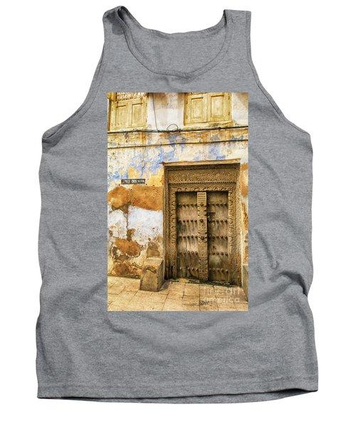 The Rustic Door Tank Top by Amyn Nasser