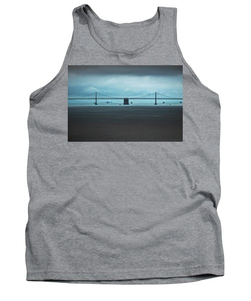 The San Francisco - Oakland Bay Bridge Tank Top