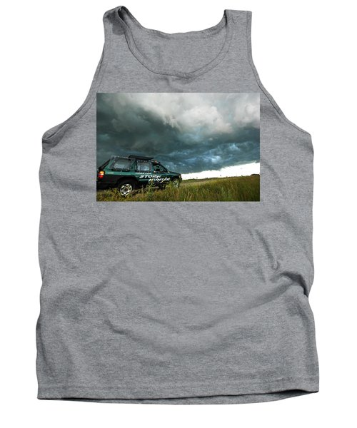 Tank Top featuring the photograph The Saskatchewan Whale's Mouth by Ryan Crouse