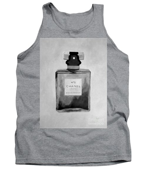 The Scent Black And White Tank Top