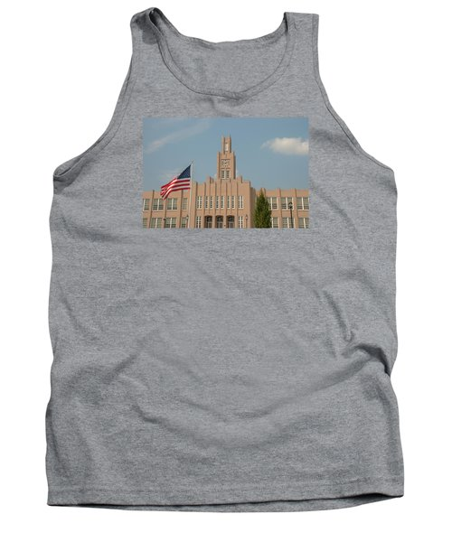 The School On The Hill Tank Top