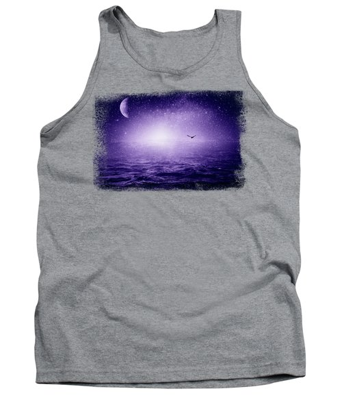 The Sea And The Universe - Ultra Violet Tank Top