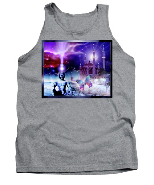 The Serenity Of Wisdom... Tank Top