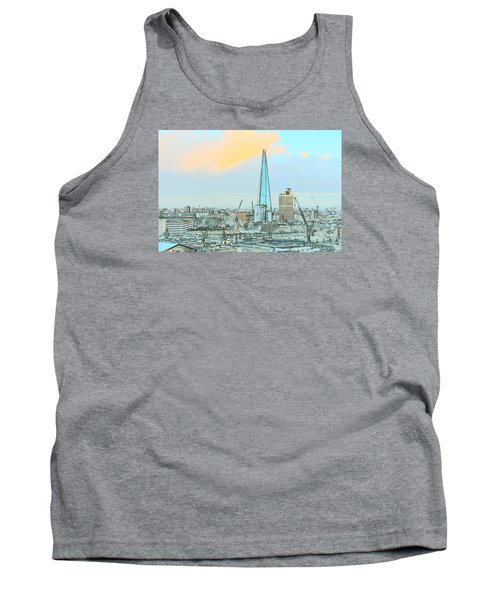 The Shard Outline Poster Tank Top