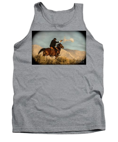 The Sharp Shooter Western Art By Kaylyn Franks Tank Top