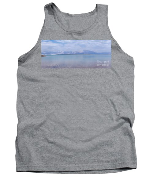 Tank Top featuring the photograph The Silence Of The Dead Sea by Yoel Koskas