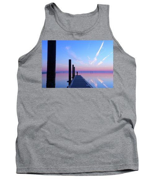 The Silent Man Tank Top by Thierry Bouriat