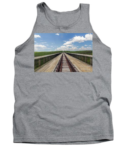 Tank Top featuring the photograph The Skywalk by Jim Lepard