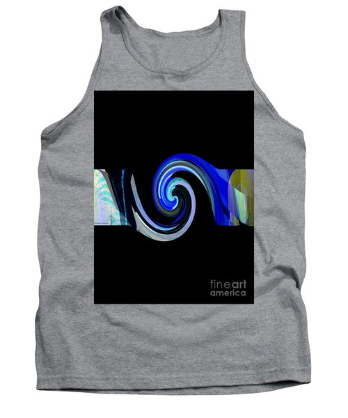 The Spiral Tank Top by Thibault Toussaint