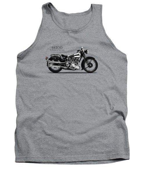 The Ss100 Vintage Motorcycle Tank Top