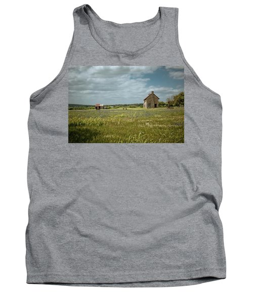 Tank Top featuring the photograph The Stone House by Linda Unger