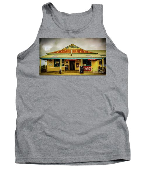 Tank Top featuring the photograph The Store by Perry Webster