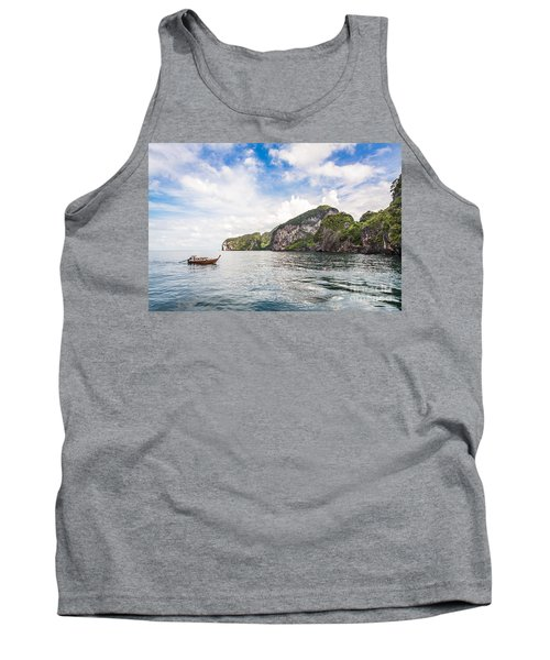 The Stunning  Koh Mook In The Trang Island Tank Top