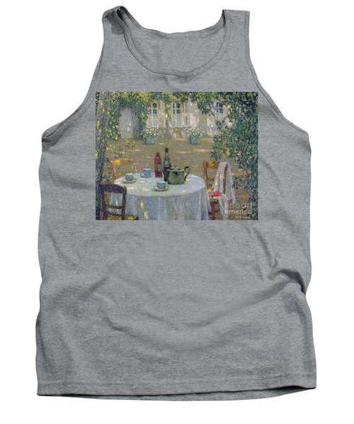 The Table In The Sun In The Garden Tank Top