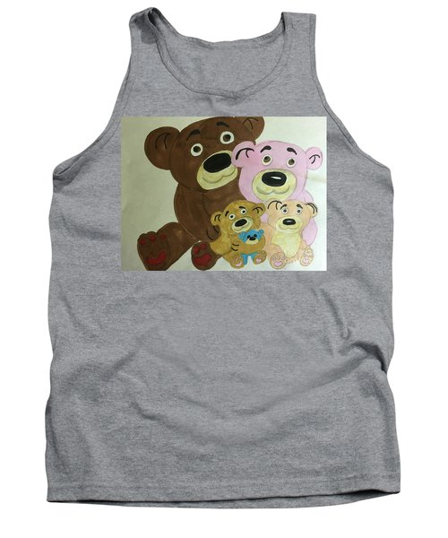 The Teddy Family  Tank Top