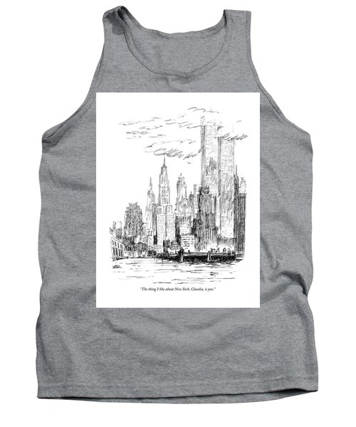 The Thing I Like About New York Tank Top