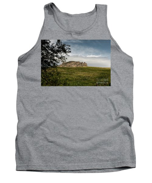 Tank Top featuring the photograph The Three Fingers by Bruno Spagnolo