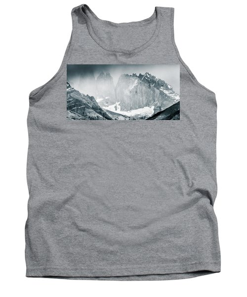 Tank Top featuring the photograph The Towers by Andrew Matwijec