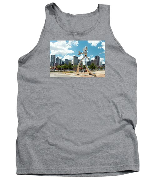 The Traveling Man Dallas 080618 Tank Top