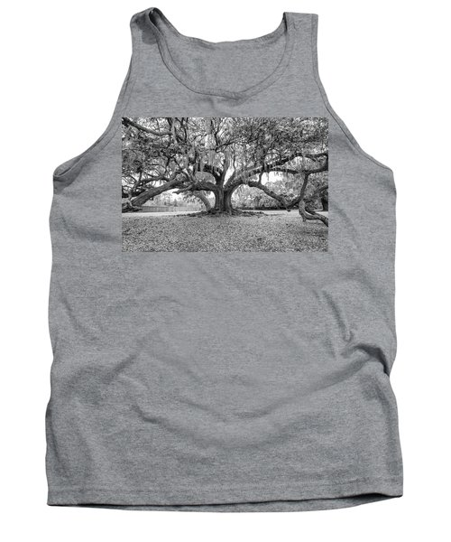 The Tree Of Life Monochrome Tank Top