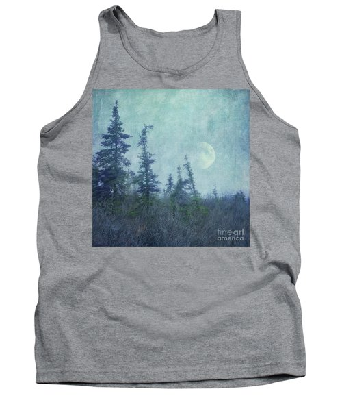 The Trees And The Moon Tank Top