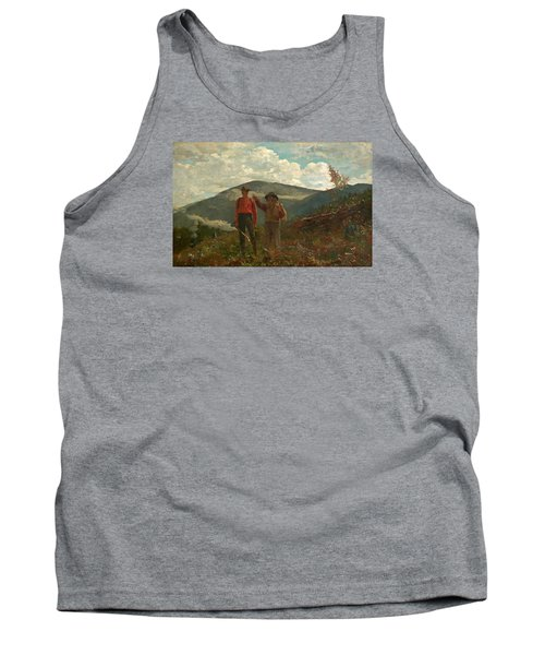 Tank Top featuring the painting The Two Guides by Winslow Homer