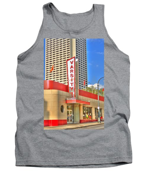 The Varsity Frontdoor Atlanta Georgia Landmark Art Tank Top