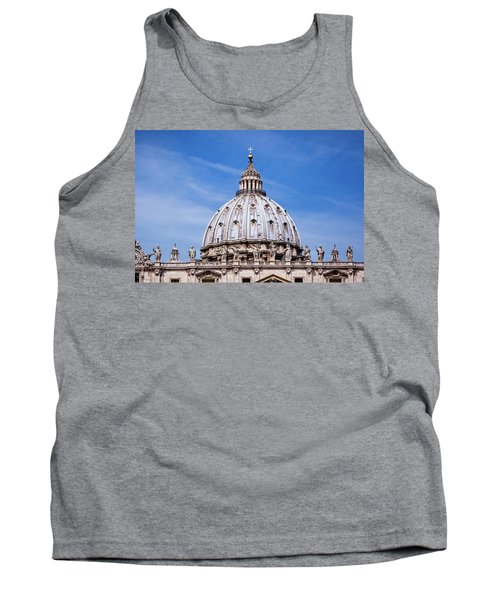 The Vatican Tank Top by Nick  Shirghio