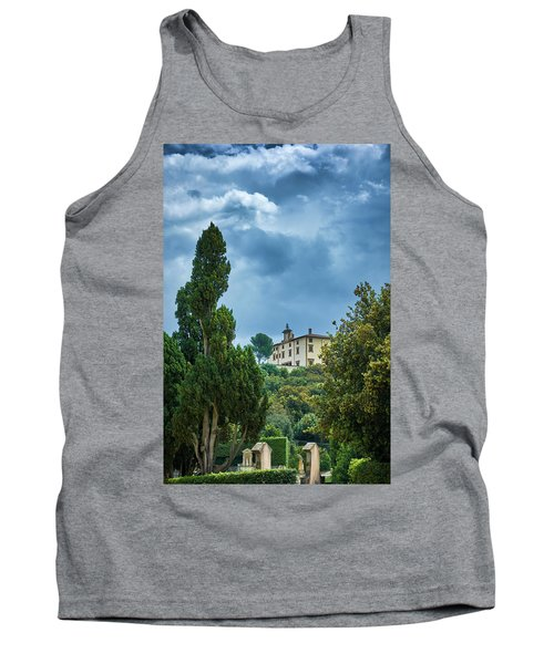 The Views From The Boboli Gardens Tank Top