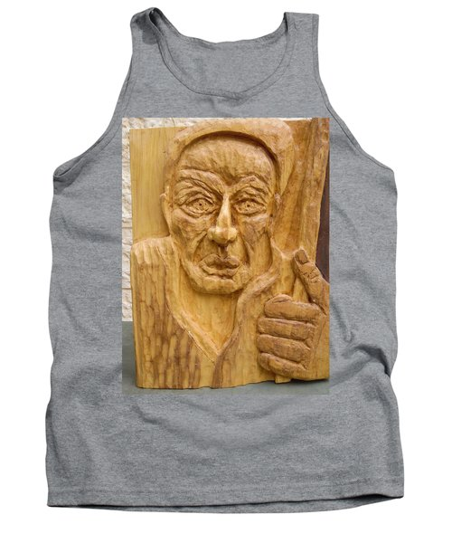 Tank Top featuring the painting The Wandering Jew by Esther Newman-Cohen