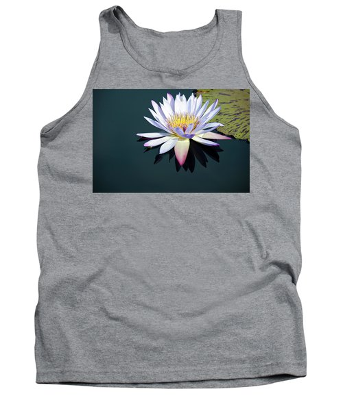 The Water Lily Tank Top by David Sutton