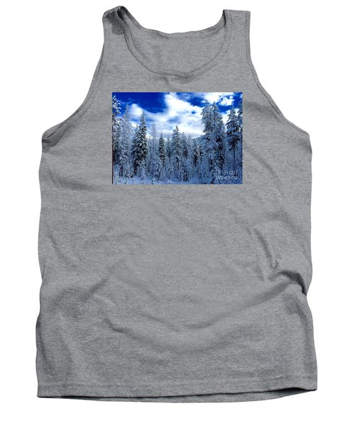 The Winter Blues  Tank Top