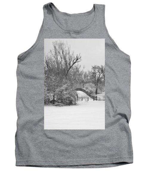 The Winter White Wedding Bridge Tank Top by Daniel Thompson