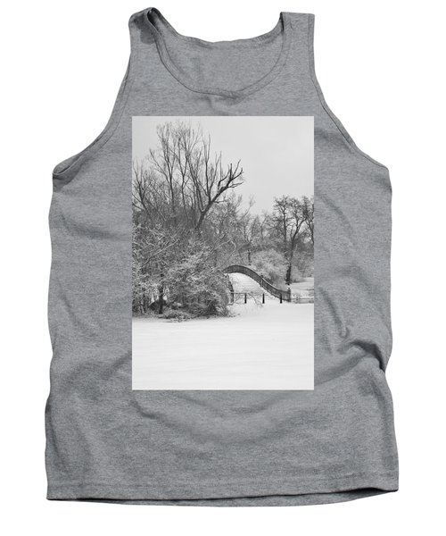 The Winter White Wedding Bridge Tank Top