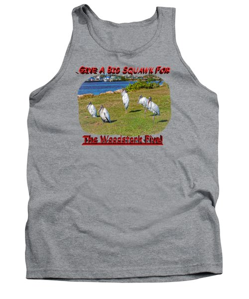 The Woodstork Five Tank Top